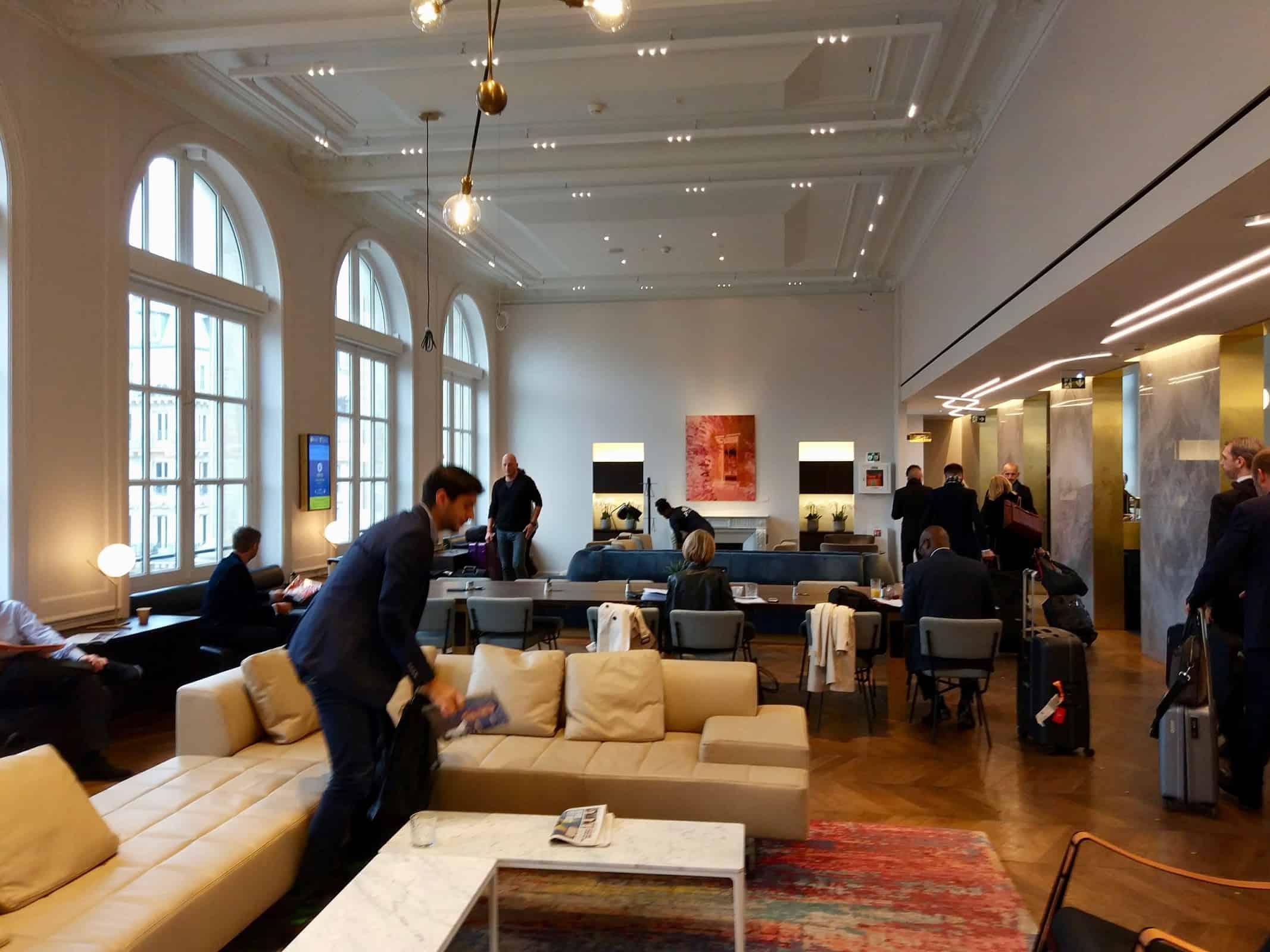 Salon Business Premier à Paris, joli tour de force de l\'Eurostar ...